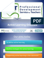Active Learning Sept 9