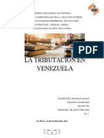 La Tributación en Venezuela