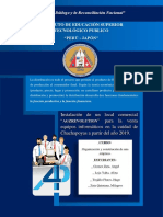 Organización y constitución de una empresa.