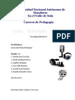 Informe Exposicion Radio Television Cine