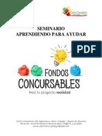fondos concursables org sin fines de lucro