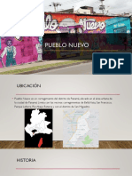 Analisis Del Corregimiento de Pueblo Nuevo