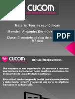 El Modelo Básico de Empresa en México