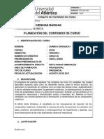 3carta Descriptiva Quimica Organica 1 v3.0