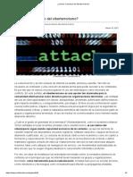 ¿Cuál Es El Alcance Del Ciberterrorismo?