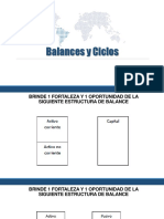 Balances y Ciclos