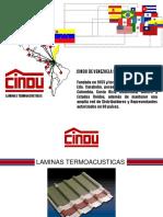 Techos laminas CINDU.