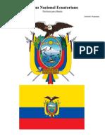 Himno Nacional Del Ecuador. Salve Oh Patria Mil Veces