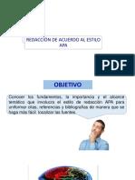 0_Estilo de Redacción APA UNFV CLASE 1