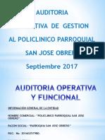 Ppt Auditoria Operativa Policlinico Final 27-09-2017