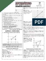 Apostila de Geometria Analítica I (11 Páginas, 88 Questões, com gabarito).pdf