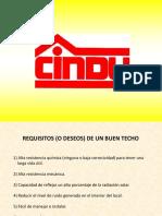 CINDU Corrosion y Reflectancia