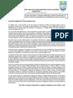 Análisis Comparativos de Lineas Editoriales, 2do Medio 2019