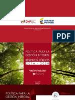 3. Socialización CONPES 3874 ANDI