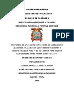 PROPUESTA DE APLICACIÓN