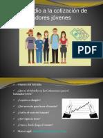 Subsidio Cotizaciones de Trabajadores Jovenes