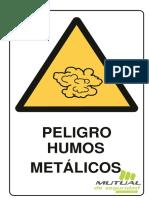Peligro Humos Metalicos