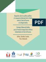 DIAGNÓSTICO Y ESTRATEGIA REGIONAL ANDINA DE TRATA DE PERSONAS