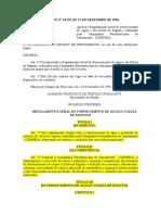 Aplicabilidade Lei 11445 Jose Pereira