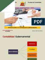 Introducción Contabilidad Gubernamental 2019