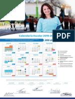 Calendario Escolar 200 días Guanajuato