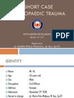 Short Case Fr Ilium Acetabulum