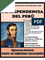 Historia Del Peru.6(Indenpendencia Del Peru)