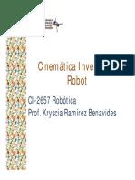 Cinemática inversa Robot
