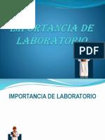 Importancia de Laboratorio Clinico