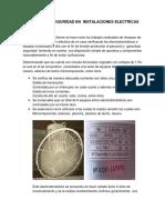INFORME  DE SEGURIDAD EN  INSTALACIONES ELECTRICAS12678.docx