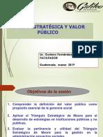 Gestión Estratégica y Valor Sesion 3