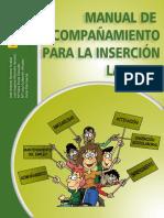 Manual de acompañamiento para la inserción laboral