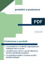 2.Fattori Produttivi e Produzione .II.