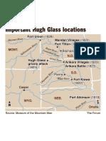 Hugh Glass Locations