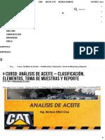 Curso_ Análisis de Aceite - Clasificación, Elementos, Toma de Muestras y Reporte _ Maquinaria Pesada