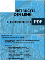 Constructii Din Lemn 1 - Elemente de Baza
