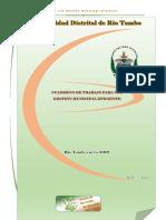 Cuaderno Gestión Municipal 2018 Mdrt