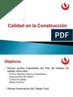 calidad en la construccion ESCUELA DE POSGRADO UPC