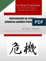 Intervención en Crisis y Primeros Auxilios Psicológicos PRESENTACION