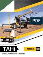 Catalogo Equipo Movil Tahi 100 400 Fuente Poder Energia Solar Paneles Fotovoltaicos