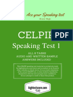 CELPIP Test Speaking