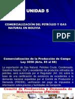 TEMA 5 Comercializacion Del Petróleo y Gas Natural en Bolivia
