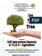 Self Instructional Material in TLE 6 Agriculture 6 JOHN JAY LUYAO