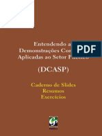 Entendendo as Demonstracoes Contabeis Aplicadas Ao Setor Publico Caderno de Slides Paginas Inicias