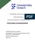 Positivismo Contemporaneo-Intro Derecho.