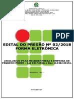 Edital Do Pregao Eletronico n 02 2018 - Ifma-campus Sao Raimundo Das Mangabeiras_retificado