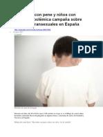 BBC MUNDO - Hay Niñas Con Pene y Niños Con Vulva - La Polémica Campaña Sobre Los Niños Transexuales en España - 18 01 2017