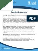 2. Glosario ExpInmersiva Int