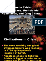 AP Day 150 Civilizations in Crisis the Ottomans and Qing China