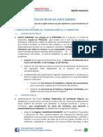 Propuestas de Desarrollo para la Región Huánuco 2018